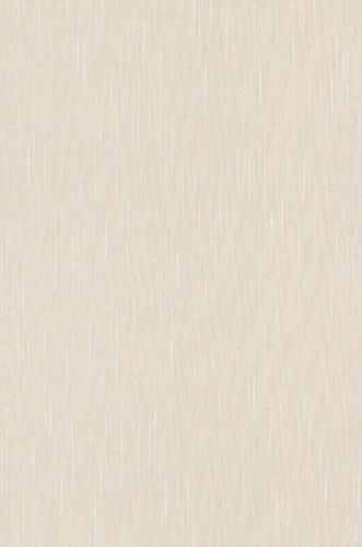 Textile Wallpaper Stripes Plain cream Gloss 073729 online kaufen