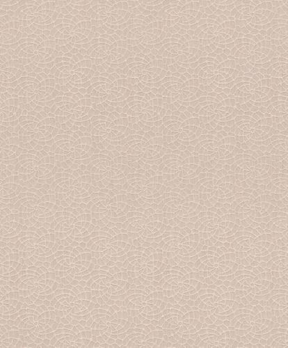 Textile Wallpaper Rasch Textil graphic beige cream 078960 online kaufen