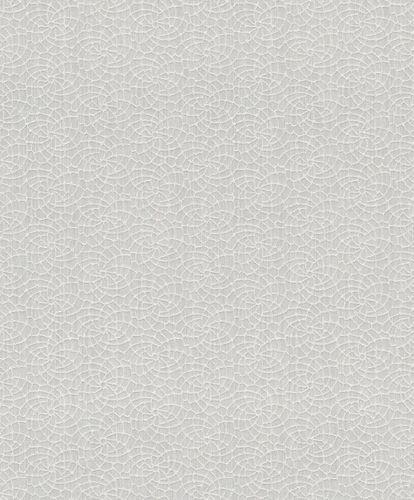 Textile Wallpaper Rasch Textil graphic silver cream 079035 online kaufen