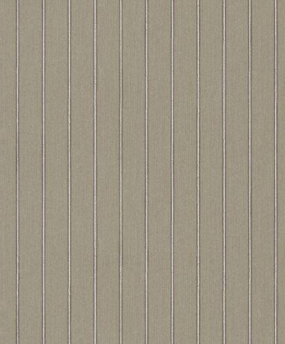 Textiltapete Streifen Linien beige grau Glanz 079264