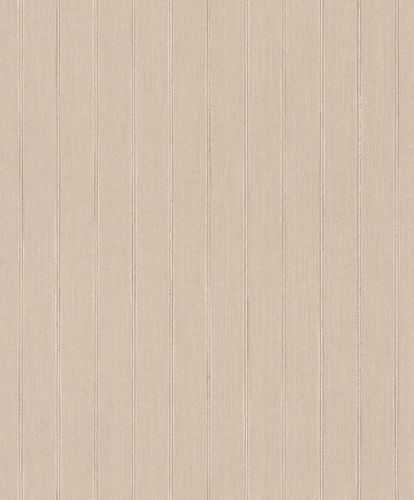 Textile Wallpaper Lines Stripes Classic rose brown 079288