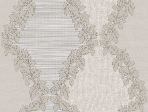Wallpaper World Wide Walls ornaments grey taupe 109031 online kaufen
