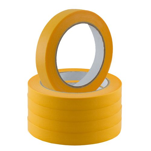 Set of 5 Gold-Tape Adhesive Crepe Masking Tape 19mm x 50m online kaufen
