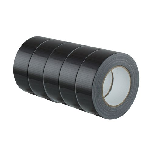 Set of 5 Duct Gaffer Tape High Strength Adhesive 48mm x 50m