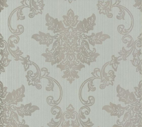 Wallpaper World Wide Walls baroque grey blue gloss 110604