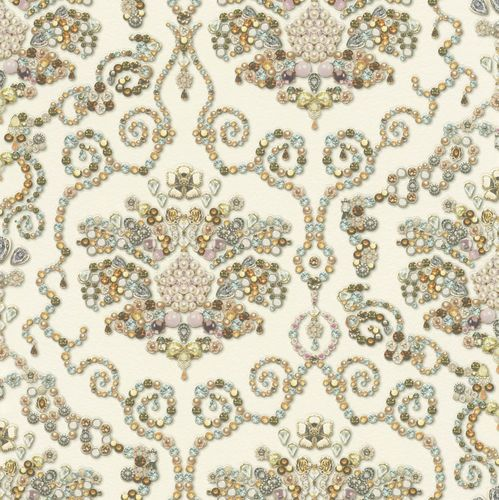 Wallpaper Rasch pearl baroque classic colourful 307603 online kaufen