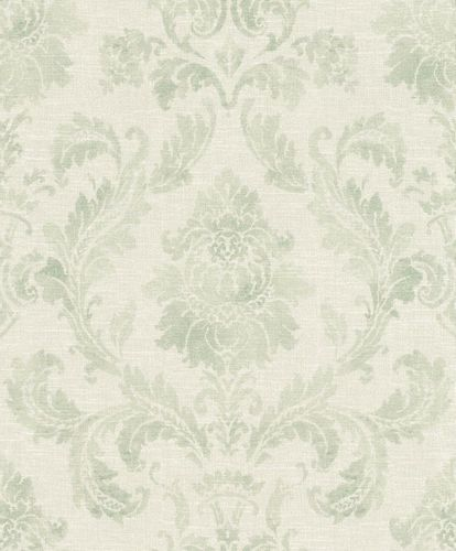Eco wallpaper Rasch baroque cream grey green 602623 online kaufen