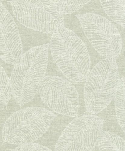 Eco wallpaper Rasch leaves vintage green grey 602845 online kaufen