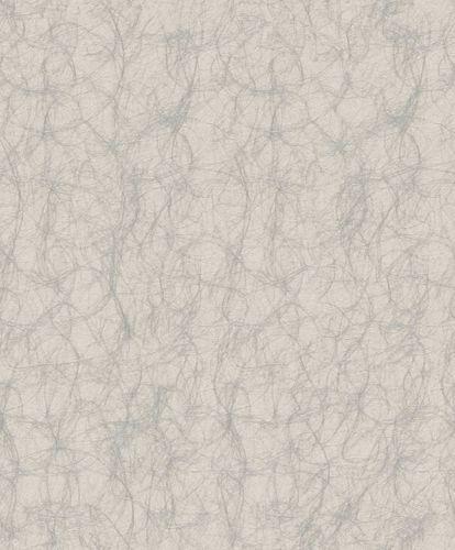 Wallpaper Rasch Textil graphic yarn grey gloss 072104 online kaufen