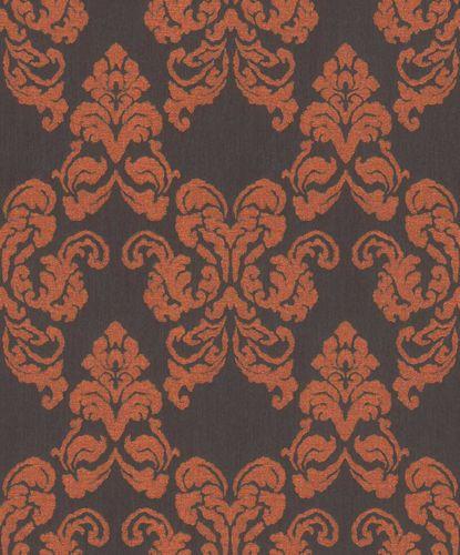 Wallpaper Rasch Textil ornaments dark brown glitter 072180 online kaufen