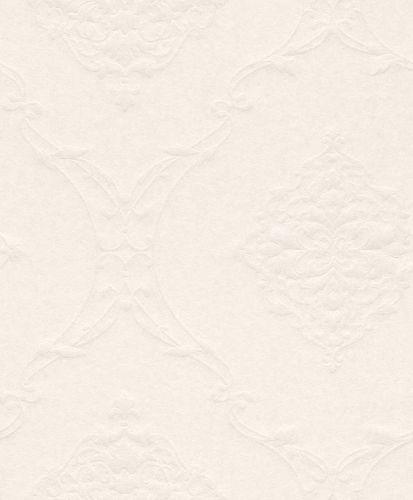 Wallpaper Rasch Textil baroque stucco white gloss 072265 online kaufen