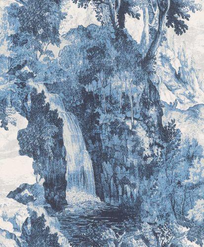 Wallpaper Rasch Textil landscape blue 228556