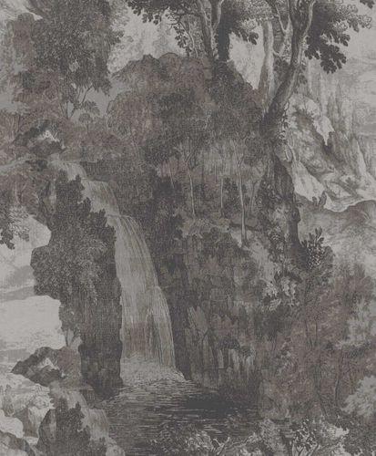 Vliestapete Rasch Textil Natur Landschaft dunkelgrau 228587 online kaufen