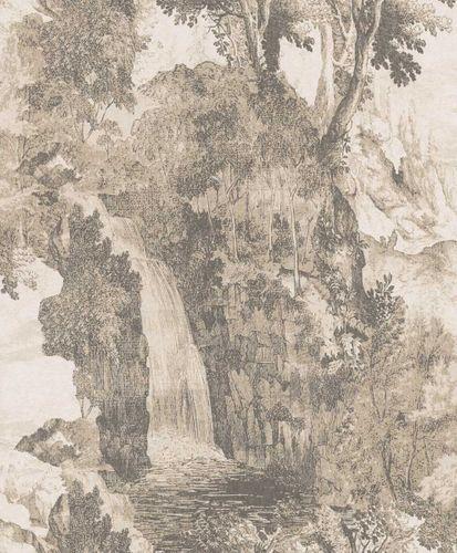 Wallpaper Rasch Textil landscape grey white 228594 online kaufen
