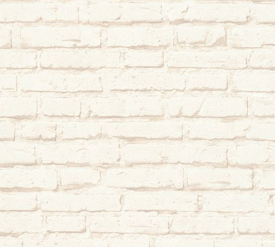 Wallpaper stone bricks cream beige AS Creation 34399-1 online kaufen