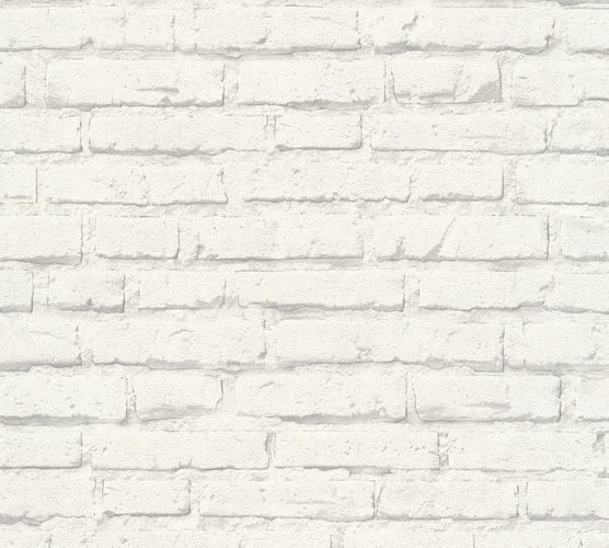 Non-Woven Wallpaper stonewall clinker white 34399-2 online kaufen