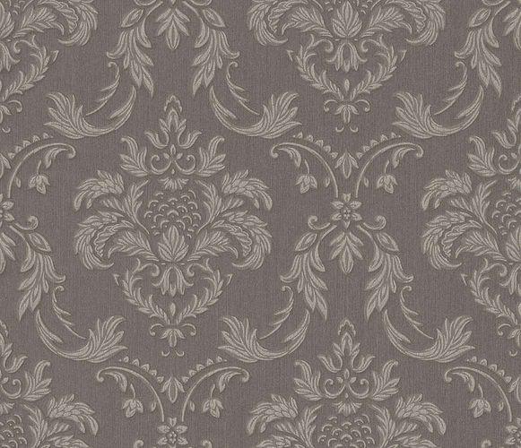 Textile Wallpaper Rasch Textil baroque taupe grey 078045