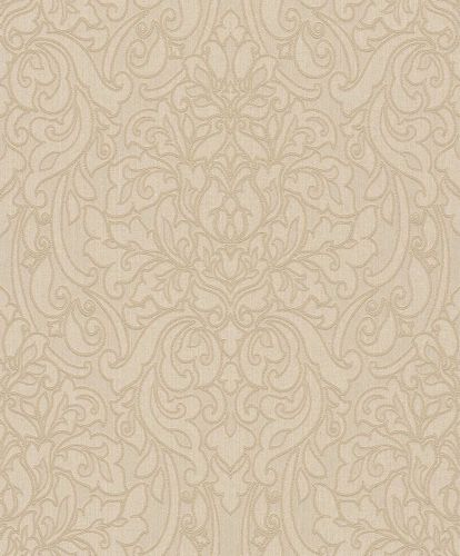 Textile Wallpaper Rasch Textil baroque beige brown 078090