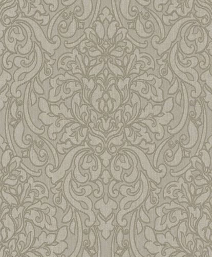 Textile Wallpaper Rasch Textil baroque grey taupe 078113