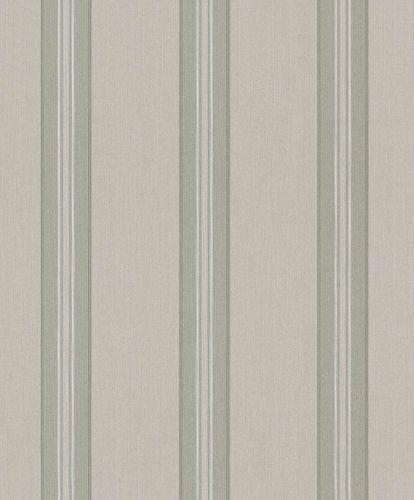Textile Wallpaper Rasch Textil stripes beige grey 078281