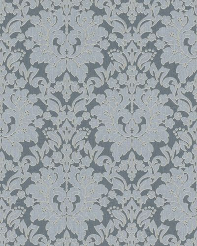 Wallpaper floral baroque grey glitter Marburg 59051