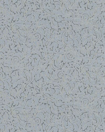 Wallpaper floral tendril grey glitter Marburg 59067