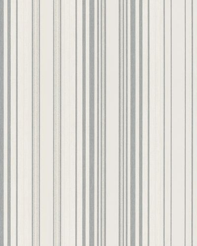 Wallpaper stripes white gloss Marburg 59083