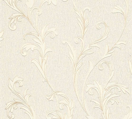 Papiertapete Ranken Floral weiß creme AS Creation 32476-1 online kaufen