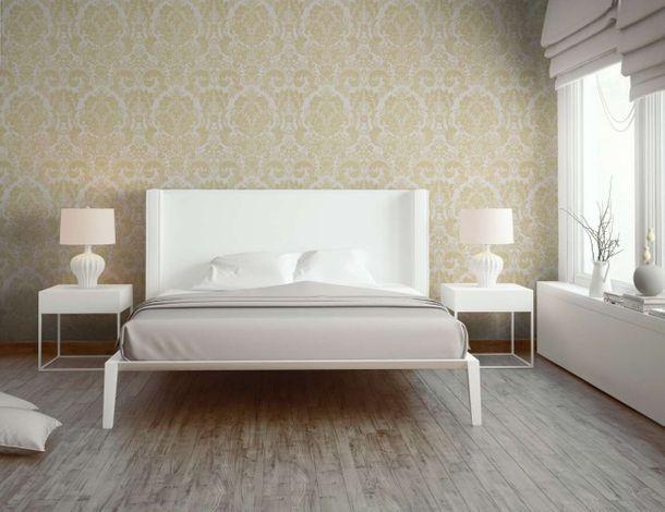 Wallpaper baroque floral white gold AS Creation 32750-3 online kaufen