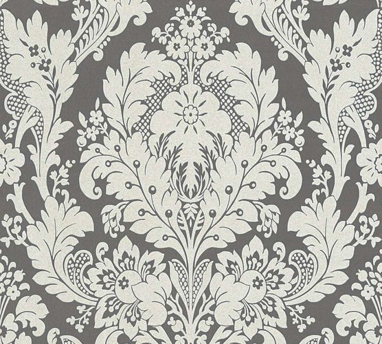 Wallpaper baroque floral anthracite AS Creation 32750-5 online kaufen