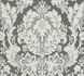 Wallpaper baroque floral anthracite AS Creation 32750-5 001