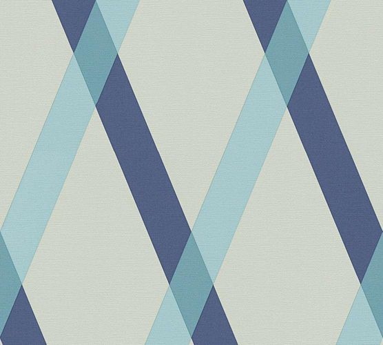 Wallpaper Lars Contzen checked stripes grey blue 34110-4 online kaufen