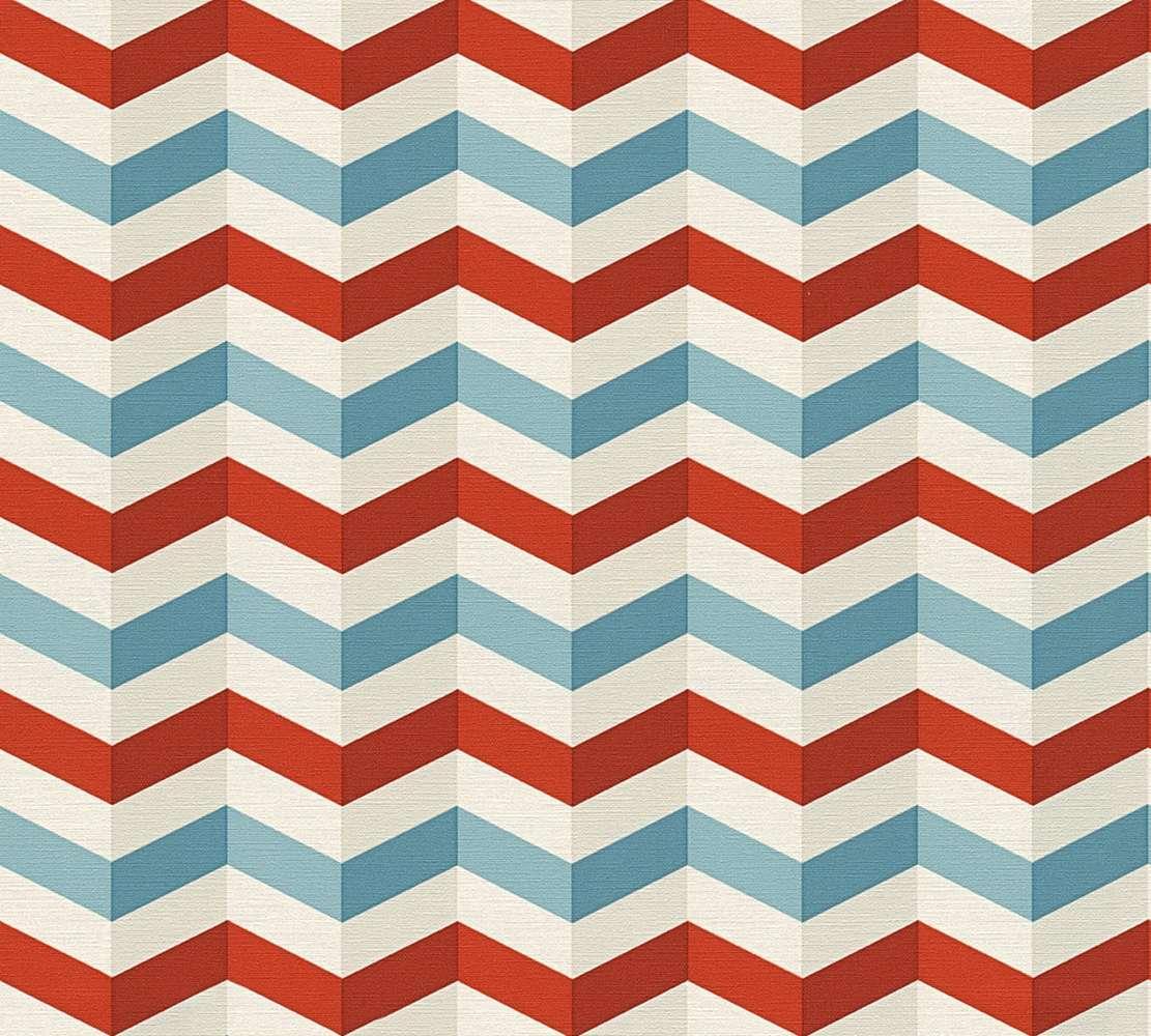 Wallpaper Lars Contzen 3d Ethno Red Blue 34123 2