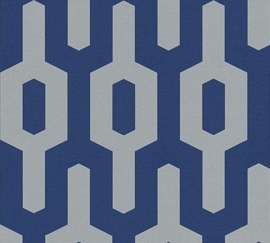 Vliestapete Lars Contzen Grafik dunkelblau grau 34124-2 online kaufen