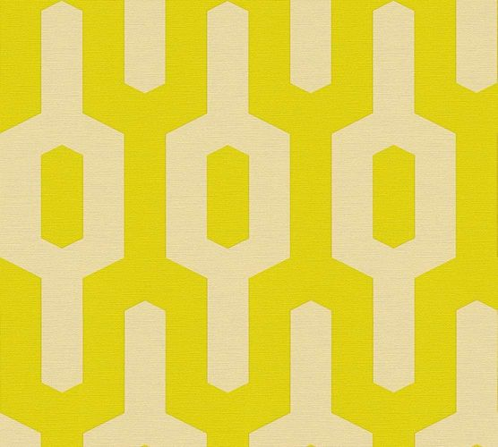 Wallpaper Lars Contzen graphic yellow green 34124-4 online kaufen