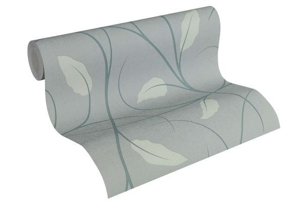 Wallpaper Lars Contzen tendrils leaf green grey 34214-3 online kaufen
