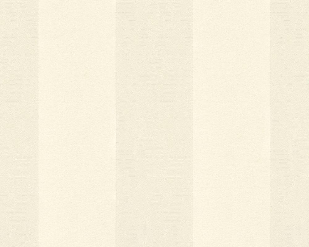 Flock wallpaper stripes cream beige architects paper 33581 1 - Cream flock wallpaper ...