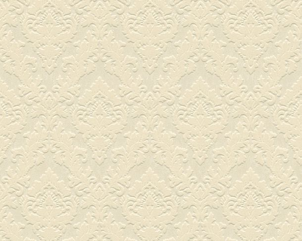 Flock wallpaper ornament beige cream Architects Paper 33582-1 online kaufen