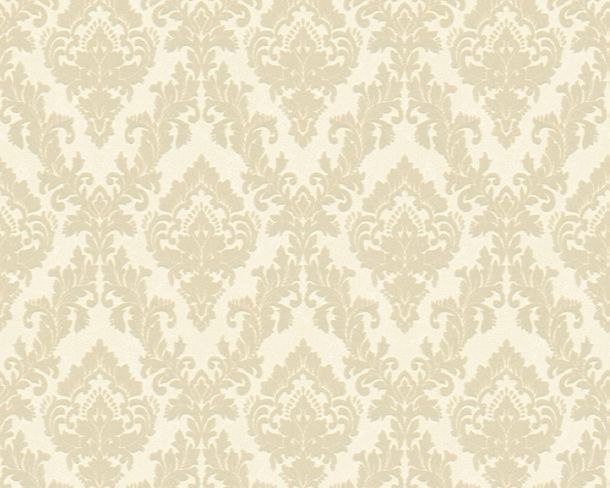 Flock wallpaper ornament cream cream Architects Paper 33582-2 online kaufen