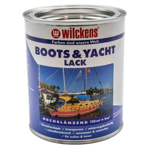 Wilckens Boat and Yacht Coating transparent Lacquer 750ml