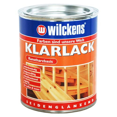 Wilckens Clear Lacquer Varnish transparent silk-gloss 375 ml
