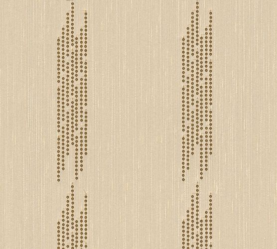 Tapetenpanel Linien beige gold Architects Paper 30607-1
