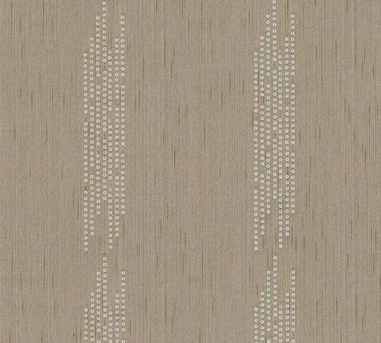 Wallpaper panel lines beige grey silver Architects Paper 30607-4