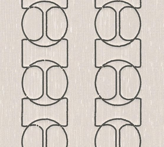Wallpaper panel abstract grey silver Architects Paper 30613-2 online kaufen
