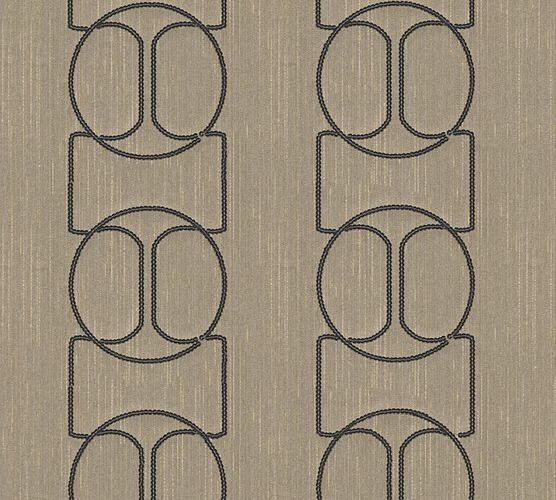 Wallpaper panel abstract beige grey Architects Paper 30613-4