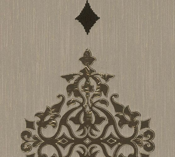 Wallpaper panel ornaments beige grey brass Architects Paper 30617-1 online kaufen