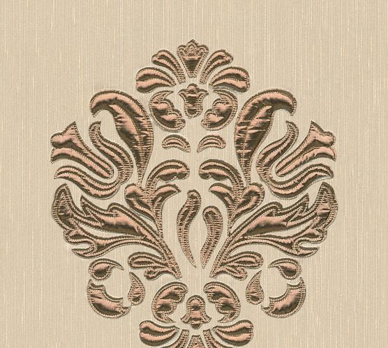 Wallpaper panel ornament beige brass Architects Paper 30634-1 online kaufen