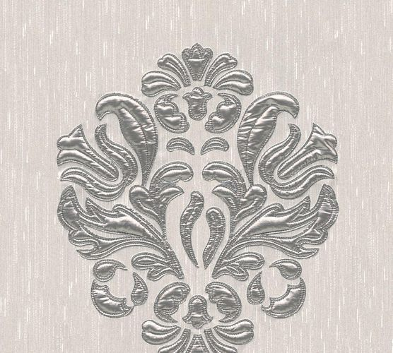 Wallpaper panel ornament grey silver Architects Paper 30634-2 online kaufen