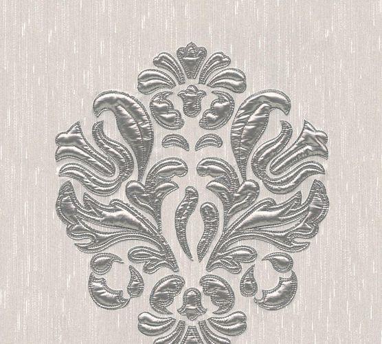 Tapetenpanel Ornament grau silber Architects Paper 30634-2