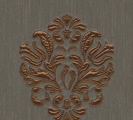 Wallpaper panel ornament dark brown Architects Paper 30634-5 online kaufen
